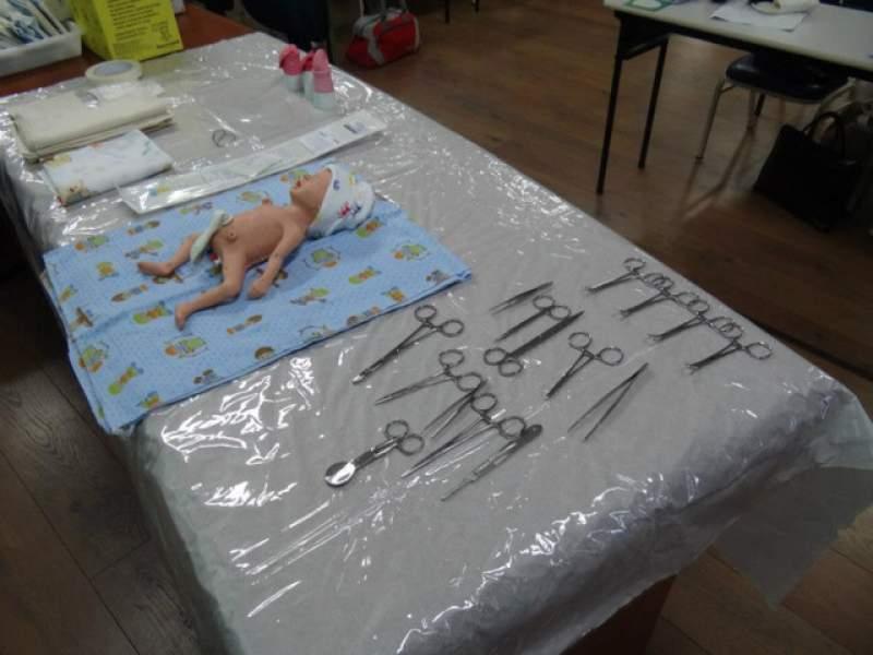 Imagem sobre Instrumentais para realização do procedimento